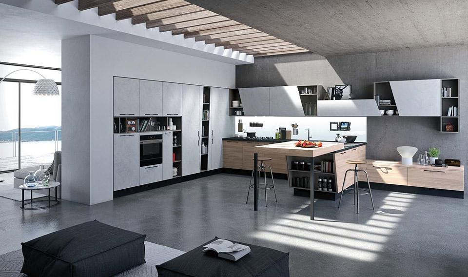 Vendita cucine moderne, classiche, contemporanee